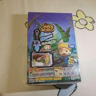 全新 Snack World 武器 抽選寶盒 Tre Jara Box 一盒10個 第二彈