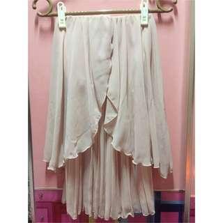 🚚 春夏單品💕雪紡平口洋裝💃