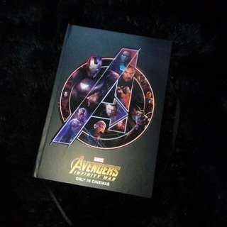 Avenger Infinity War Notebook