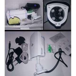 Sricam SP007 Bullet Outdoor WIFI HD Camera . white camera body
