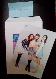 Twice Tzuyu, Jihyo, Mina postcard