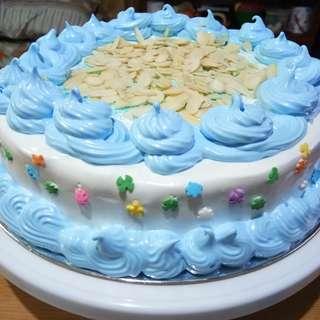 Vanilla Chiffon Birthday Cake