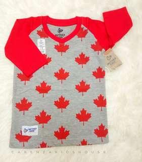 Raglan Baju Anak Laki-laki