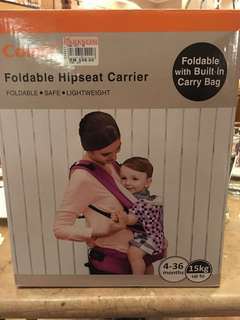 Combi Foldable Hipseat carrier