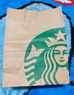 Paper bag starbucks