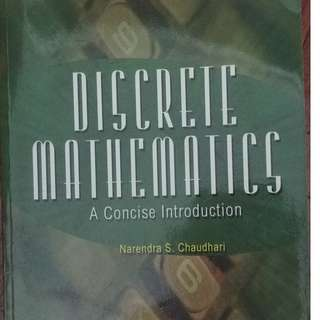 Discrete Mathematics: A Concise Introduction