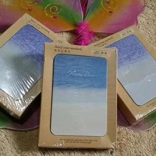 BAGSAK PRESYU SALE!!!! MINI HEAVEN BEACH METAL NOTEBOOK
