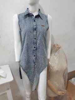 Baju denim greenlight