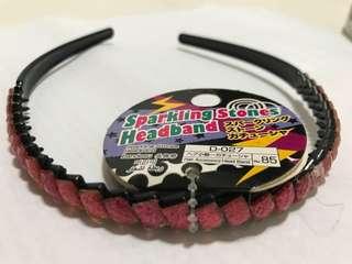 BNWT Sparkling Stone Headband