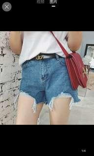 Denim Shorts plus size sexy xxl uk14