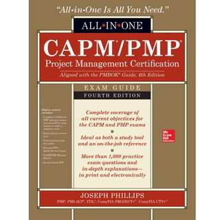 CAPM/PMP Project Management Certification All-In-One Exam Guide 4th Edition