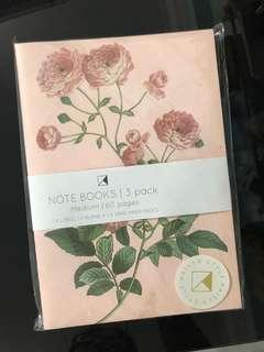 (Set of 3) Kaisercraft Botanica Collection A5 Sized Notebook