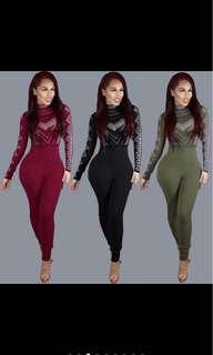 Full Body Long Sleeve Jumpsuit