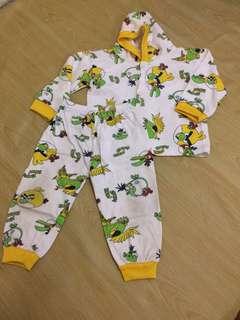 Pyjama Printed angry bird