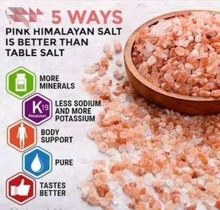 ❤️Healthy Himalayan Pink Crystal Salt 1kg Pack ❤️