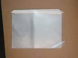 A4 clear sheets for files
