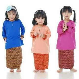 Baju Kurung Kids Songket