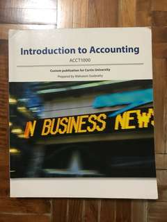 "Introduction to accounting ""Curtin University"""