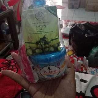 Paket iso lulur sabun sirih dan handbody lotion
