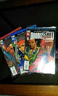 Marvel Knights Double Shot issue 1,3,4 . 2002