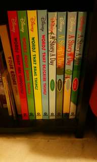 Grolier Disney Books (2 set) - A Story a Day/Words that...