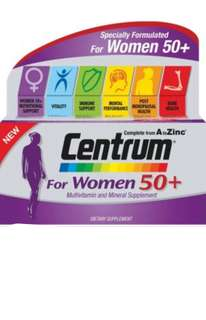 Centrum for women 50+ (60tablets)