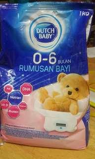 Susu baby 0-6 bulan