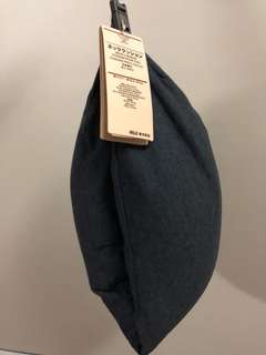 Authentic Brand New Muji Neck Pillow in Navy
