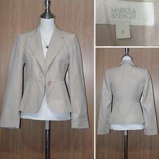 M&S khaki blazer