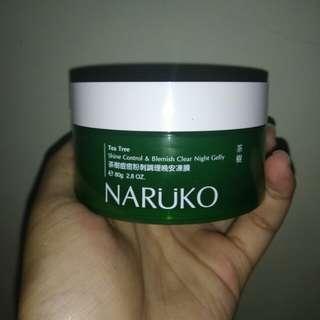 Naruko Tea Tree Shine Control & Blemish Clear Night Jelly