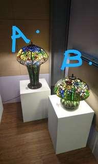 歐式風格 臺燈 床頭燈 (代售)手作藝品