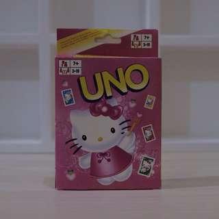 Uno Card Hello Kitty