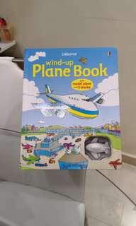 Usborne plane wind up series book
