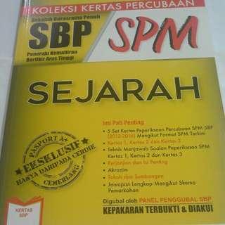 SBP Sejarah