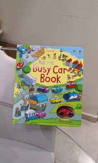 Usborne busy car book