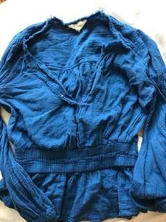 Isabel marant blue blouse
