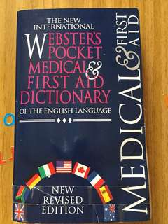 Medical First Aid Dictionary - 2000 edition