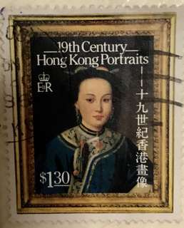Antique 19th century Hong Kong Portraits (L4XB3)cm