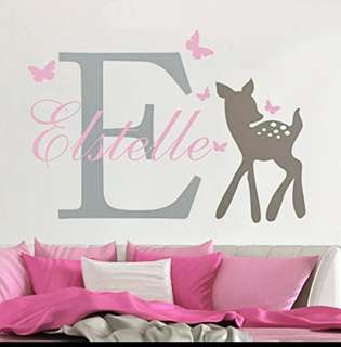 Baby room wall sticker decoration