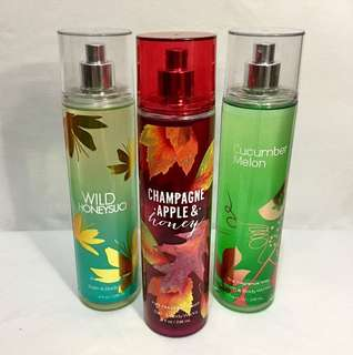 Promo!!!! 3 for Php 1650, Bath and Body Works Fragrance Mist