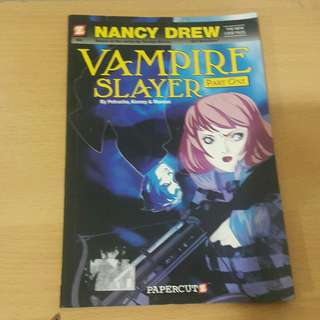 Nancy Drew Vampire Slayer graphic novel