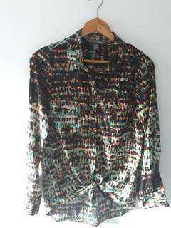 Anthropologie Charlie Jade blouse / size small