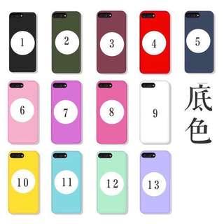 英文名訂製訂造iphone X case電話手機磨砂保護套