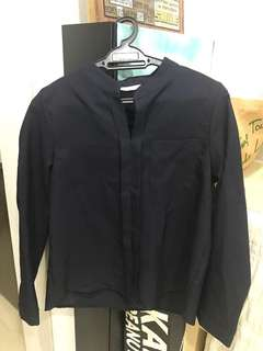 Dark blue long sleeve