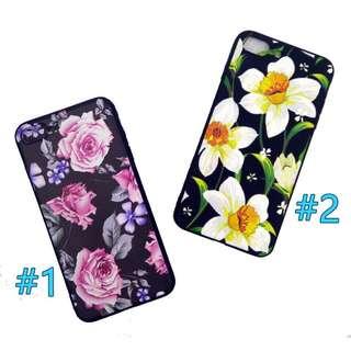 Floral Soft Case for iPhone 5/5s/5se 6plus/6s+, 7plus/8+
