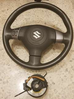 Suzuki Swift Steering Wheel with Audio Control Switch