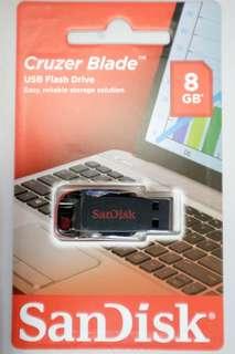 全新 SanDisk 8GB USB 包本地普通平郵