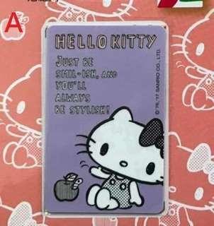 🚚 HELLO KITTY 小清新悠遊卡 粉紫、粉紅 兩款可挑