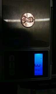 U.s rare coin 1982 90% cooper coin