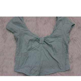 Bozzolo Crop Top for little girls